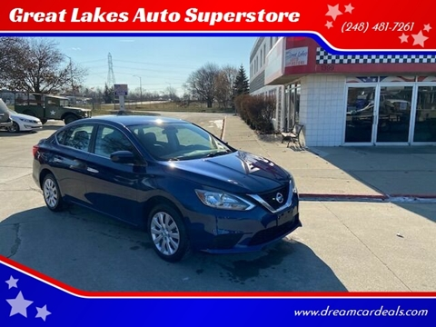 2018 Nissan Sentra for sale at Great Lakes Auto Superstore in Pontiac MI