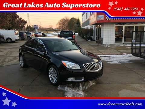 2012 Buick Regal for sale at Great Lakes Auto Superstore in Pontiac MI