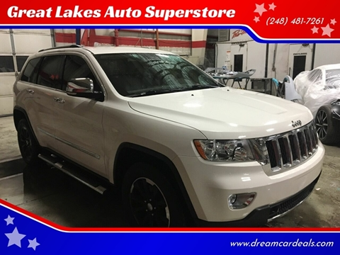 2011 Jeep Grand Cherokee for sale at Great Lakes Auto Superstore in Pontiac MI