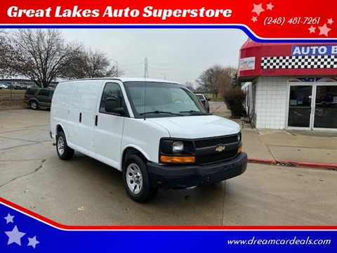 2014 Chevrolet Express Cargo for sale at Great Lakes Auto Superstore in Pontiac MI