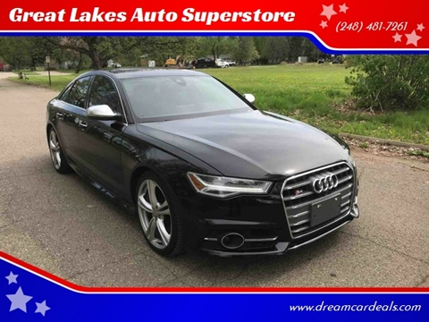 2016 Audi S6 for sale at Great Lakes Auto Superstore in Pontiac MI