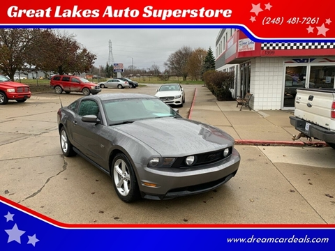 2010 Ford Mustang for sale at Great Lakes Auto Superstore in Pontiac MI