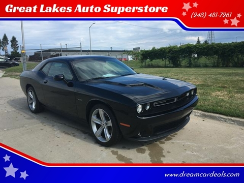 2017 Dodge Challenger for sale at Great Lakes Auto Superstore in Pontiac MI