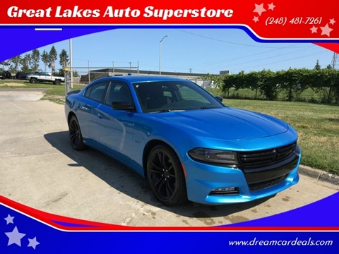 2016 Dodge Charger for sale at Great Lakes Auto Superstore in Pontiac MI