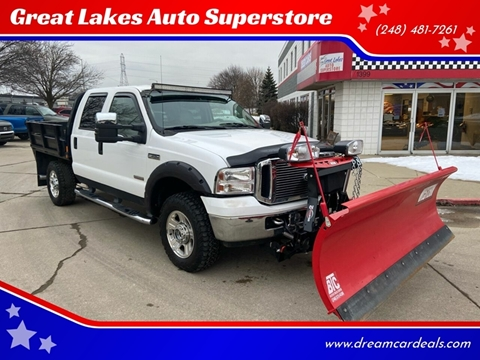 2006 Ford F-350 Super Duty for sale at Great Lakes Auto Superstore in Pontiac MI