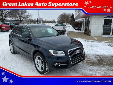 2014 Audi Q5 for sale at Great Lakes Auto Superstore in Pontiac MI