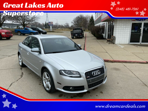 2008 Audi A4 for sale at Great Lakes Auto Superstore in Pontiac MI