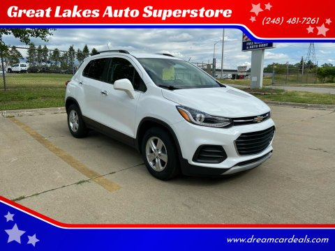 2017 Chevrolet Trax for sale at Great Lakes Auto Superstore in Pontiac MI