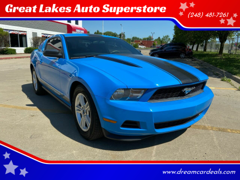 2012 Ford Mustang for sale at Great Lakes Auto Superstore in Pontiac MI