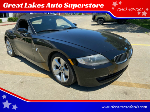 2007 BMW Z4 for sale at Great Lakes Auto Superstore in Pontiac MI