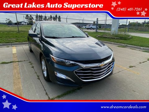 2019 Chevrolet Malibu for sale at Great Lakes Auto Superstore in Pontiac MI