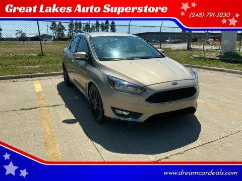 2016 Ford Focus for sale at Great Lakes Auto Superstore 2 in Waterford MI