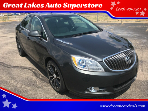 2017 Buick Verano for sale at Great Lakes Auto Superstore in Pontiac MI