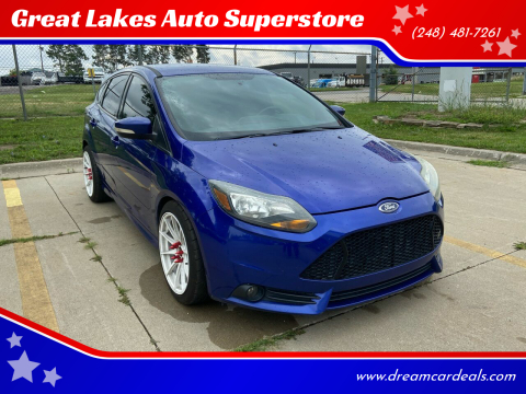 2014 Ford Focus for sale at Great Lakes Auto Superstore in Pontiac MI