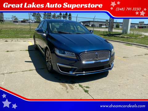 2017 Lincoln MKZ for sale at Great Lakes Auto Superstore 2 in Waterford MI
