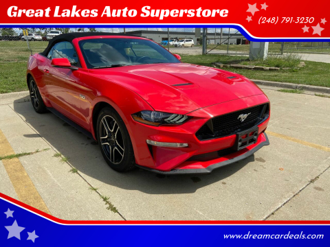 2019 Ford Mustang for sale at Great Lakes Auto Superstore 2 in Waterford MI