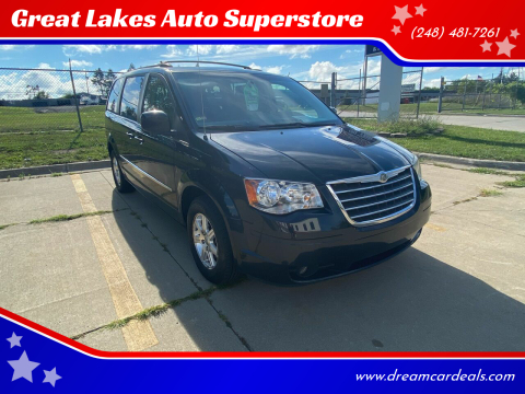 2009 Chrysler Town and Country for sale at Great Lakes Auto Superstore in Pontiac MI