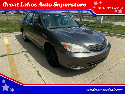 2004 Toyota Camry for sale at Great Lakes Auto Superstore 2 in Waterford MI
