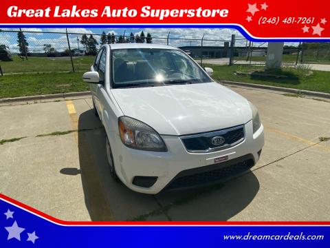 2011 Kia Rio for sale at Great Lakes Auto Superstore in Pontiac MI