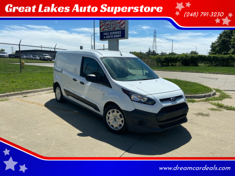 2017 Ford Transit Connect Cargo for sale at Great Lakes Auto Superstore 2 in Waterford MI