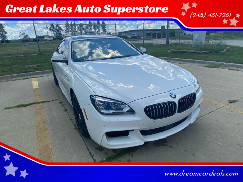 2014 BMW 6 Series for sale at Great Lakes Auto Superstore in Pontiac MI