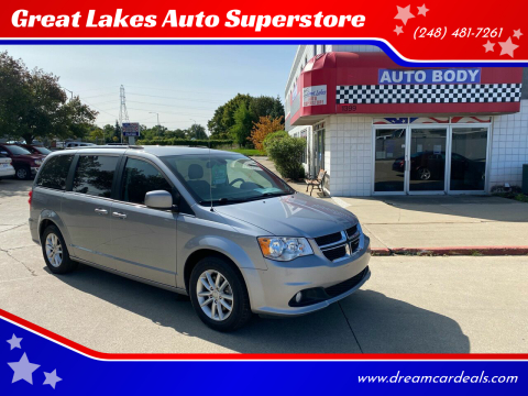 2019 Dodge Grand Caravan for sale at Great Lakes Auto Superstore in Pontiac MI