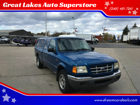 2002 Ford Ranger for sale at Great Lakes Auto Superstore in Pontiac MI