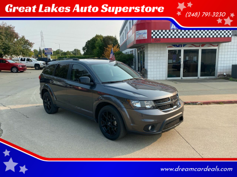 2018 Dodge Journey for sale at Great Lakes Auto Superstore 2 in Waterford MI