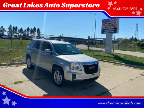 2017 GMC Terrain for sale at Great Lakes Auto Superstore 2 in Waterford MI