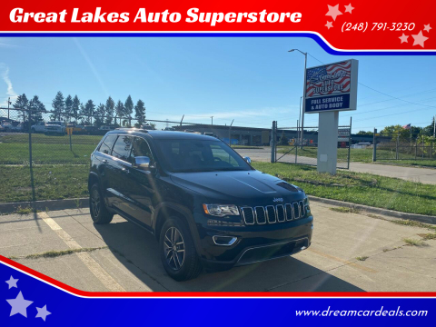 2018 Jeep Grand Cherokee for sale at Great Lakes Auto Superstore 2 in Waterford MI