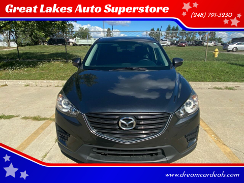 2016 Mazda CX-5 for sale at Great Lakes Auto Superstore 2 in Waterford MI