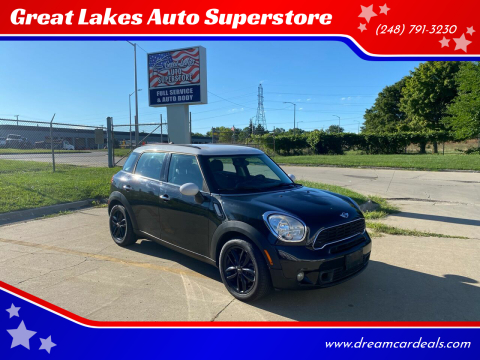 2012 MINI Cooper Countryman for sale at Great Lakes Auto Superstore 2 in Waterford MI