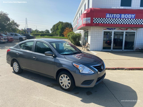 2017 Nissan Versa for sale at Great Lakes Auto Superstore 2 in Waterford MI