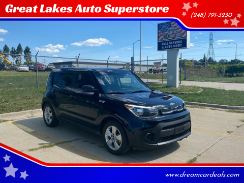 2018 Kia Soul for sale at Great Lakes Auto Superstore 2 in Waterford MI