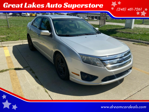 2010 Ford Fusion for sale at Great Lakes Auto Superstore in Pontiac MI