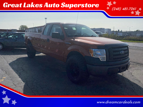 2010 Ford F-150 for sale at Great Lakes Auto Superstore in Pontiac MI