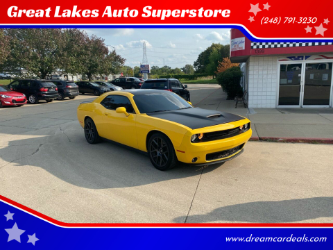 2018 Dodge Challenger for sale at Great Lakes Auto Superstore 2 in Waterford MI