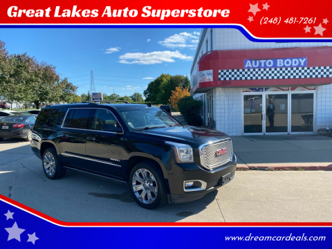 2017 GMC Yukon XL for sale at Great Lakes Auto Superstore in Pontiac MI