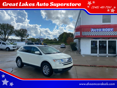 2008 Ford Edge for sale at Great Lakes Auto Superstore in Pontiac MI