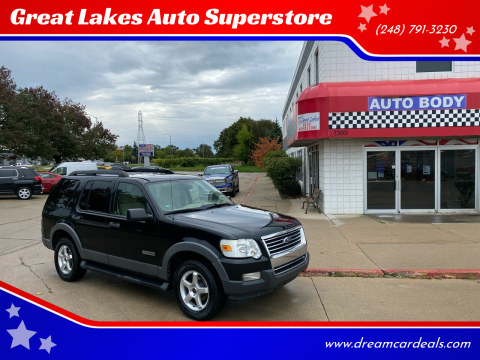 2006 Ford Explorer for sale at Great Lakes Auto Superstore 2 in Waterford MI