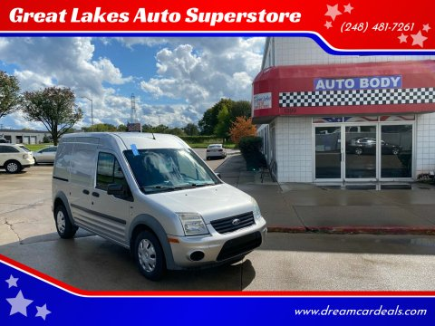 2013 Ford Transit Connect for sale at Great Lakes Auto Superstore in Pontiac MI