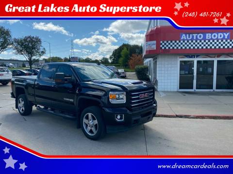 2019 GMC Sierra 2500HD for sale at Great Lakes Auto Superstore in Pontiac MI