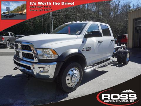 2018 RAM Ram Chassis 5500 for sale in Boone, NC