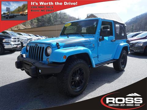 2017 Jeep Wrangler for sale in Boone, NC