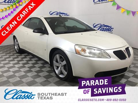 2009 Pontiac G6 for sale in Beaumont, TX
