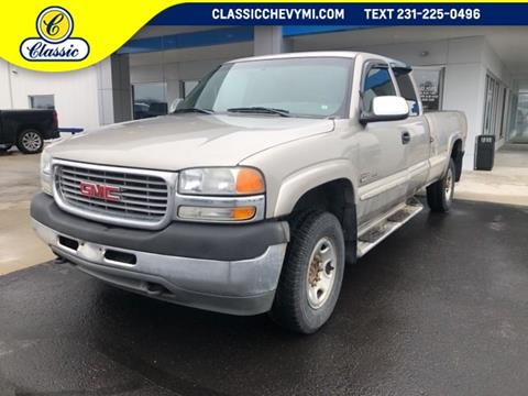 2001 GMC Sierra 2500HD for sale in Lake City, MI