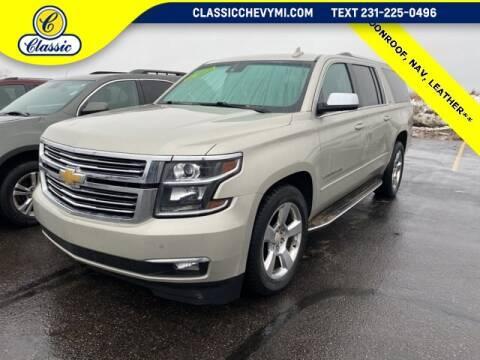 2015 Chevrolet Suburban for sale in Lake City, MI