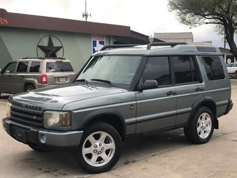 Carsforsale Com Houston >> Used 2004 Land Rover Discovery For Sale - Carsforsale.com®