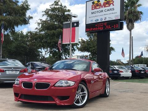 2008 BMW Z4 M for sale in Houston, TX