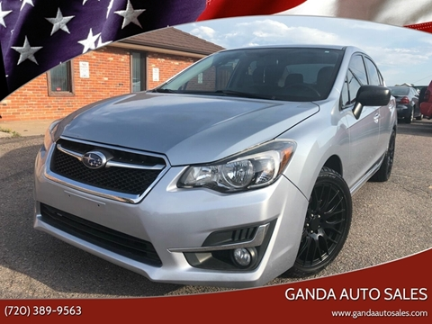 2015 Subaru Impreza for sale in Englewood, CO